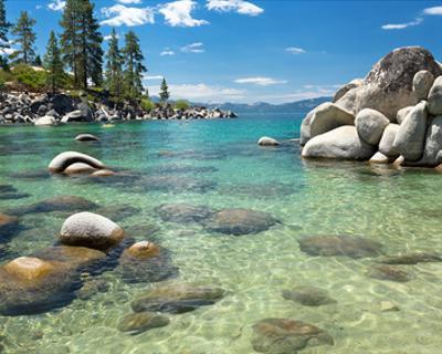 Clear Emerald Lake Tahoe