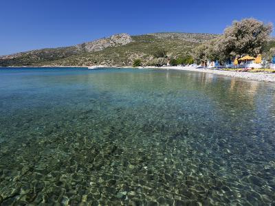 Clear Water and Beach, Klima, Samos, Aegean Islands, Greece-Stuart Black-Photographic Print