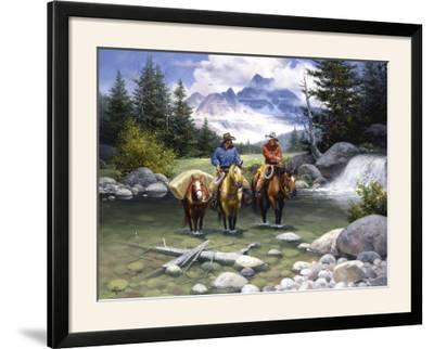 Clear Water Crossing-Jack Sorenson-Framed Photographic Print