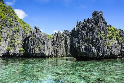 Clear Water in the Bacuit Archipelago, Palawan, Philippines-Michael Runkel-Photographic Print