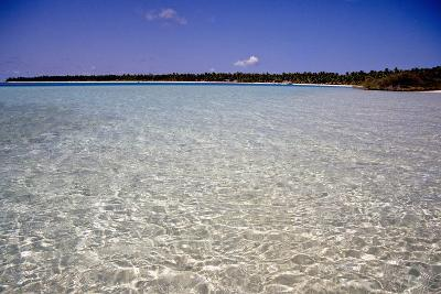 Clear Water Off Bangaram Island, Lakshadweep Islands, India, Indian Ocean, Asia-Balan Madhavan-Photographic Print