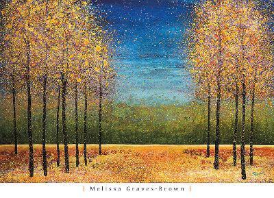 Clearing at Dusk-Melissa Graves-Brown-Art Print
