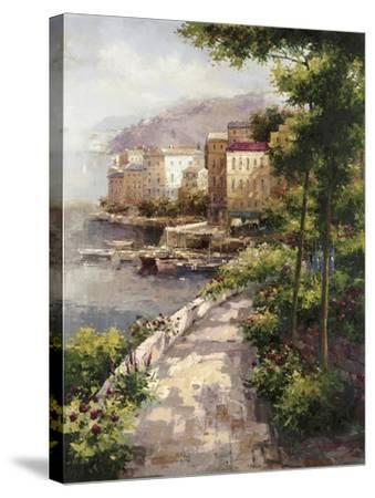Clearing Fog-Peter Bell-Stretched Canvas Print
