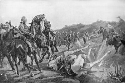 Clearing the Kopjes at Rustenburg-Richard Henry Brock-Giclee Print