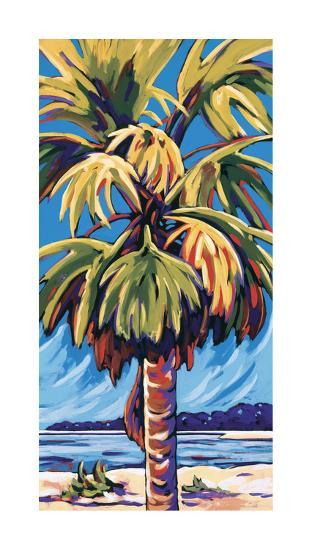 Clearwater Glow in Blue-Sally Evans-Giclee Print