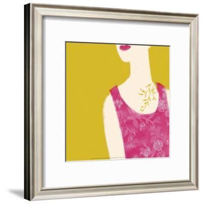 Cleavage-Nicole De Rueda-Framed Art Print