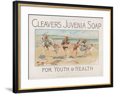 Cleaver's Juvenia Soap for Youth and Health--Framed Giclee Print