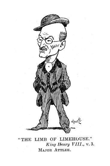 Clement Atlee (1883-196) British Labour Statesman, 1932--Giclee Print