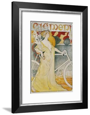 Clement Poster--Framed Giclee Print