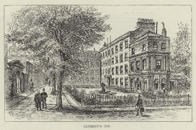 Clement's Inn-Frank Watkins-Giclee Print