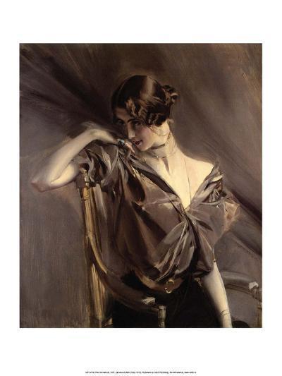Cleo de Merode, 1901-Giovanni Boldini-Art Print