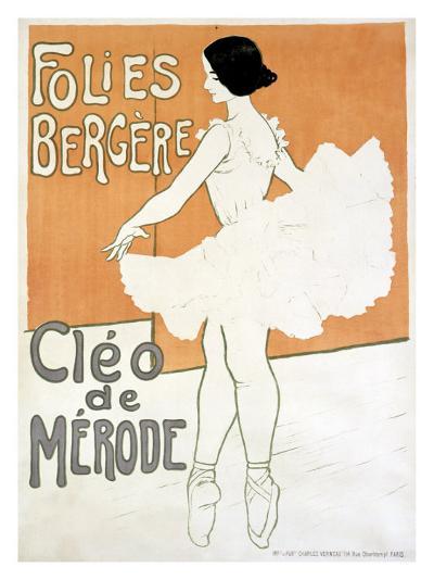 Cleo de Merode--Giclee Print