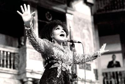 Cleo Laine, the Globe, London, 2000-Brian O'Connor-Photographic Print