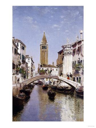 A Canal Scene, Venice