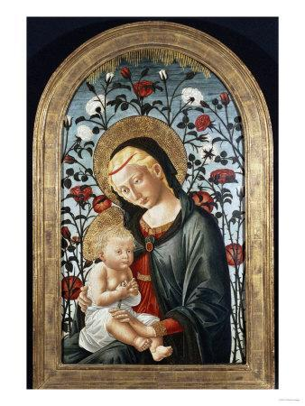The Madonna and Child with Roses (Late 15th Century)