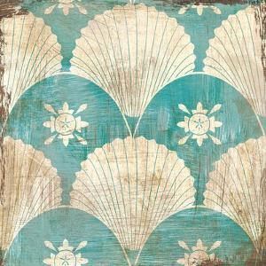 Bohemian Sea Tiles I by Cleonique Hilsaca