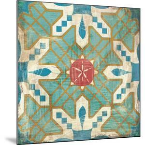 Bohemian Sea Tiles III by Cleonique Hilsaca