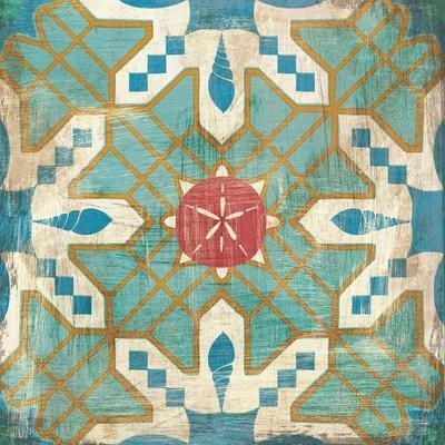 Bohemian Sea Tiles III
