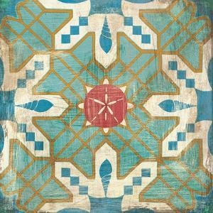 Bohemian Sea Tiles III by Cleonique Hilsaca