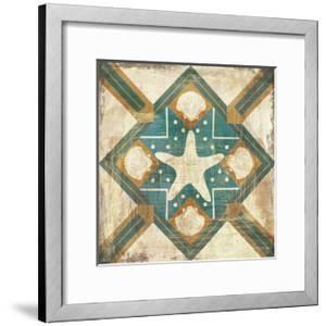 Bohemian Sea Tiles IV by Cleonique Hilsaca