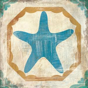 Bohemian Sea Tiles IX by Cleonique Hilsaca