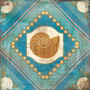 Bohemian Sea Tiles V by Cleonique Hilsaca