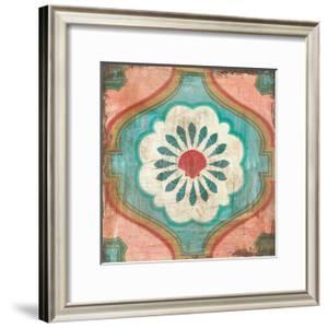 Bohemian Sea Tiles VIII by Cleonique Hilsaca