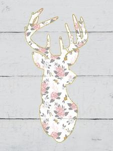 Floral Deer I by Cleonique Hilsaca