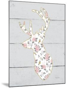 Floral Deer II by Cleonique Hilsaca