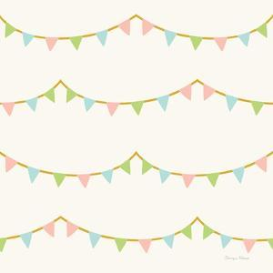 Little Circus Pastel Pattern IV by Cleonique Hilsaca