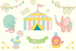 Little Circus Pastel by Cleonique Hilsaca