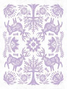 Otomi Deer Pastel by Cleonique Hilsaca