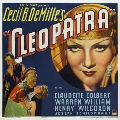 Cleopatra, 1934, Directed by Cecil B. Demille--Giclee Print