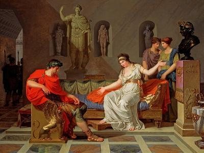 Cleopatra and Octavian, 1787-88-Louis Gauffier-Giclee Print
