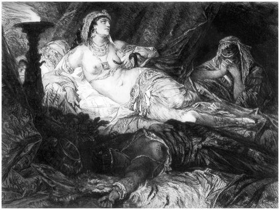 Cleopatra, C1880-1882-W Unger-Giclee Print
