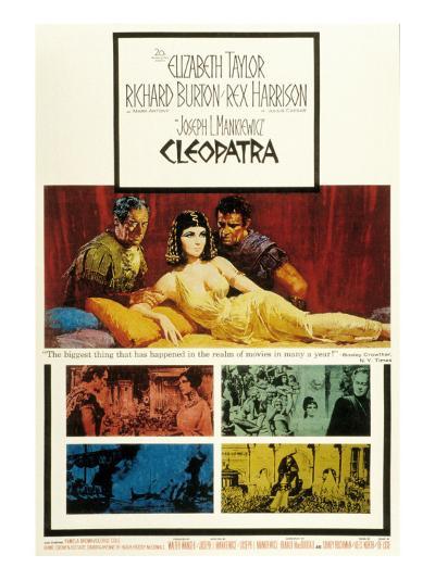 Cleopatra, Elizabeth Taylor, 1963--Photo