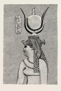 Cleopatra, from an Egyptian Representation. Egypt, 1879