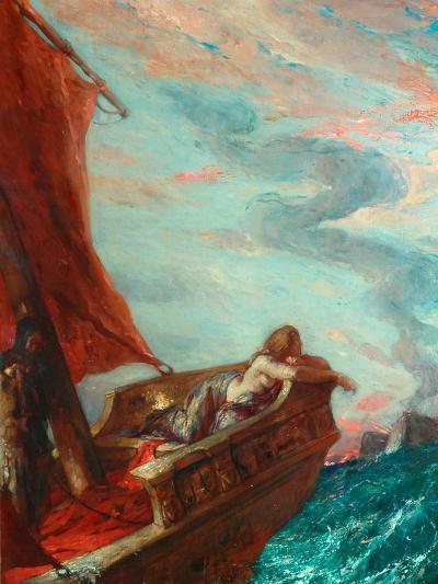 Cleopatra in Flight-Charles Ricketts-Giclee Print