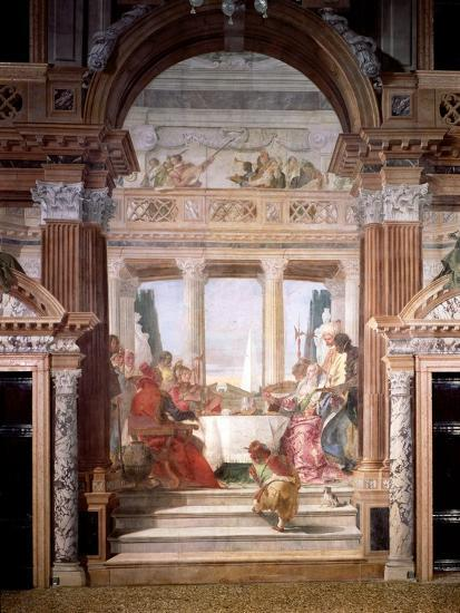 Cleopatra's Banquet, 1747-50-Giovanni Battista Tiepolo-Giclee Print