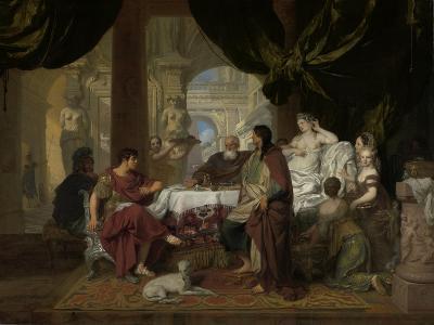 Cleopatra's Banquet, c.1675-80-Gerard De Lairesse-Giclee Print