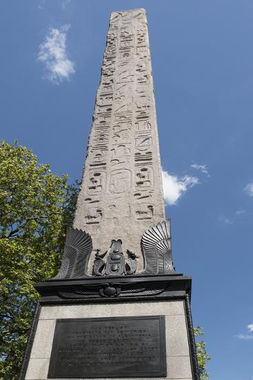 Cleopatra S Needle Victoria Embankment London England United
