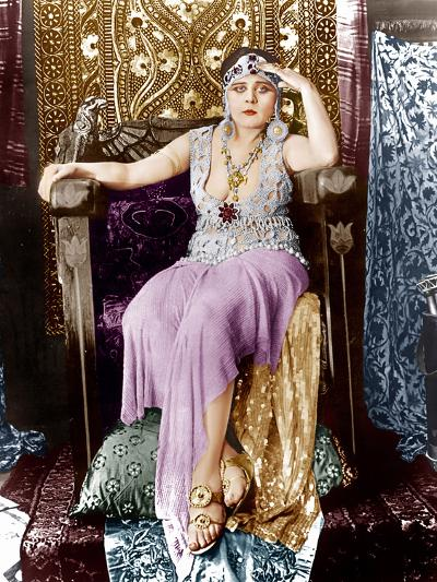 Cleopatra, Theda Bara, 1917--Photo