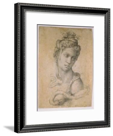 Cleopatra-Michelangelo Buonarroti-Framed Giclee Print