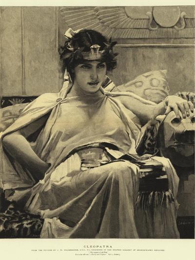 Cleopatra-John William Waterhouse-Giclee Print