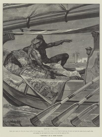 Cleopatra-Richard Caton Woodville II-Giclee Print