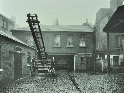 Clerkenwell Fire Station, No 44 Rosebery Avenue, Finsbury, London, 1910--Photographic Print