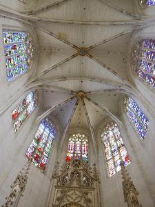 Clery-Saint-Andre Basilica Chancel, Clery Saint Andre, Loiret, France, Europe