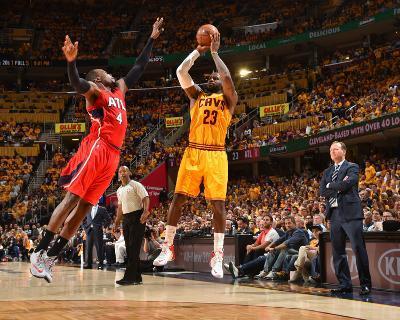 Cleveland Cavaliers V Atlanta Hawks - Game Four-Jesse D Garrabrant-Photo