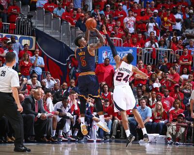 Cleveland Cavaliers v Atlanta Hawks- Game One-Nathaniel S Butler-Photo