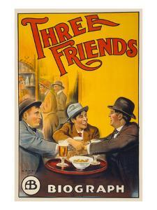 Three Friends by Cleveland Lithograph Co